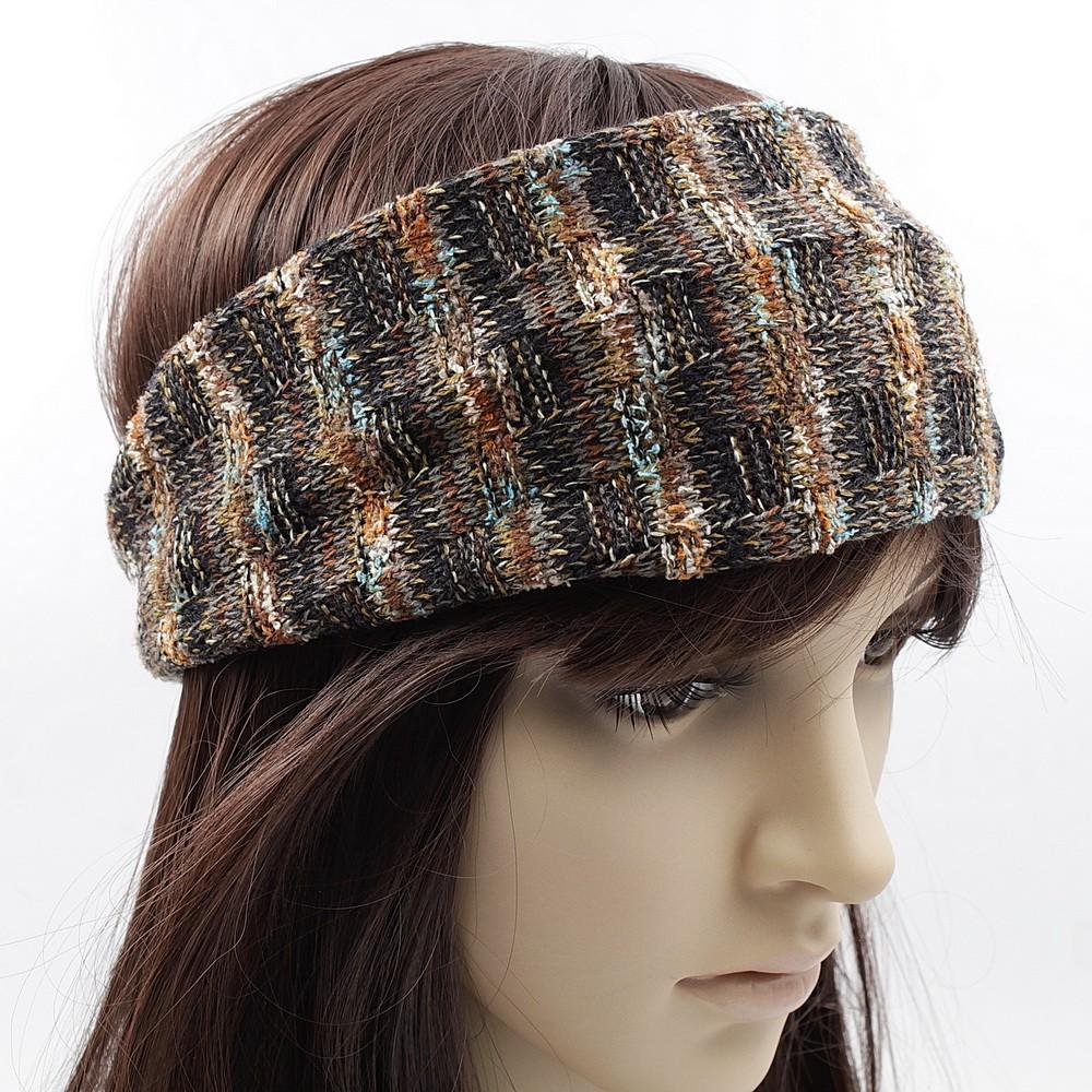 united states shop sold worldwide Bandeau serre tête headband cheveux en maille tricot.